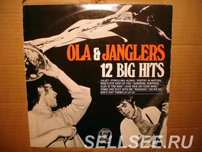 Пластинка виниловая Ola And The Janglers - 12 Big Hits, САНКТ-ПЕТЕРБУРГ