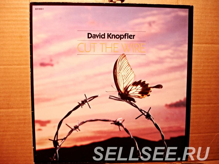 Пластинка виниловая David Knopfler - Cut The Wire, САНКТ-ПЕТЕРБУРГ